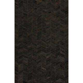 Acura Rugs Aaryan Black/Burgundy Rug   ARY 104