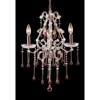 Elk Lighting Opulence 3 Light Mini Candle Chandelier   4011/3AMB