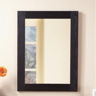 Hokku Designs Framed Wall Mirror in Black   ZOK NP31