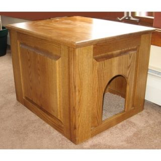 Classic Pet Beds Raised Panel Litter Box Concealment Cabinet