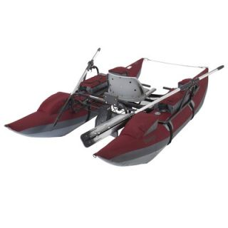Classic Accessories Oswego Pontoon Boat in Burgundy   32 034 010701