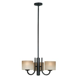 Kenroy Home Matrielle 3 Light Convertible Chandelier   80330ORB