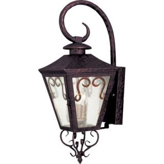 Maxim Lighting Cordoba Outdoor Wall Lantern in Oil Rubbed Bronze