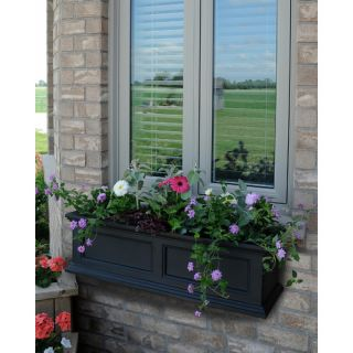 Potter Contemporary Window Box Planter
