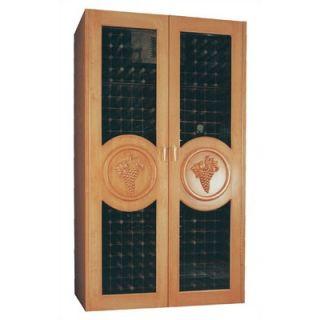 Vinotemp 700 Concord Oak Refrigerated Wine Cabinet   700 Concord