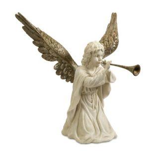 IMAX Kneeling Angel with Horn