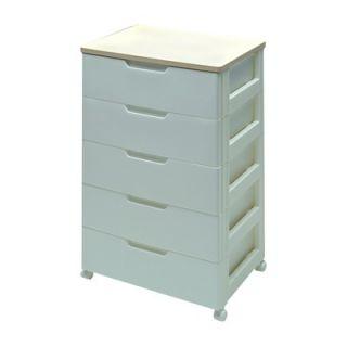 IRIS USA, Inc. Premium Drawer Storage Series High Grade 5 Drawer Chest