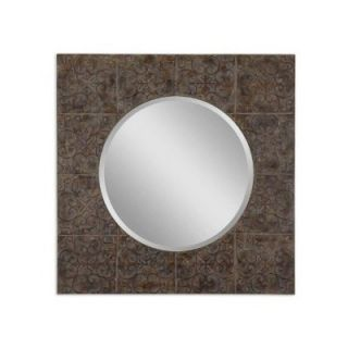 Uttermost Dublin Beveled Mirror in Antiqued Gold