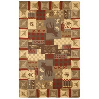 Rizzy Home Country Moose Novelty Rug