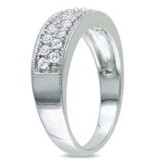 Amour Sterling Silver White Diamonds Fashion Ring   FC06K0 M5FB