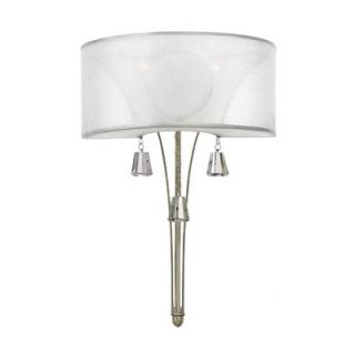 Fredrick Ramond Mime One Light Wall Sconce in Brushed Nickel