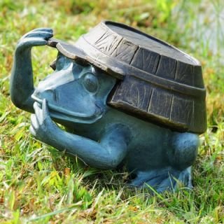 SPI Home Working Frog Garden Statue
