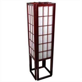 Oriental Furniture Window Pane Shoji Floor Lamp
