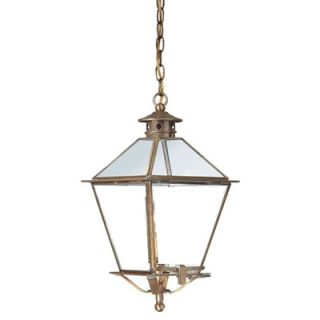Troy Lighting Montgomery Hanging Lantern with Glass Top   F8953CI