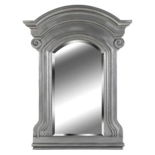Kenroy Home Avignon Wall Mirror in Antique Pewter
