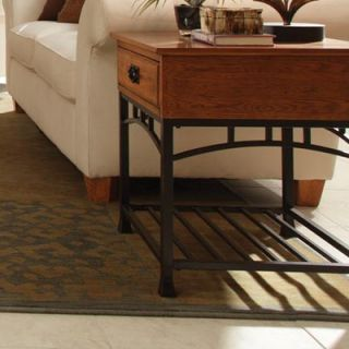 Home Styles Modern Craftsman End Table   88 5050 20