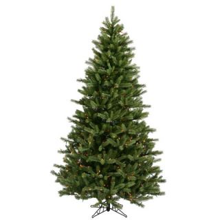 Black Hills Spruce 6.5 Artificial Christmas Tree with Multicolored