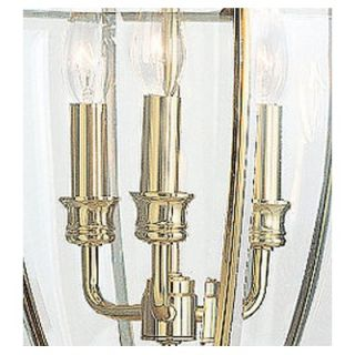 Sea Gull Lighting Lancaster Post Lantern in Polished Brass