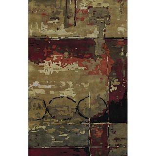 Jill Rosenwald Rugs Fallon Horizontal Sage/Ivory Rug