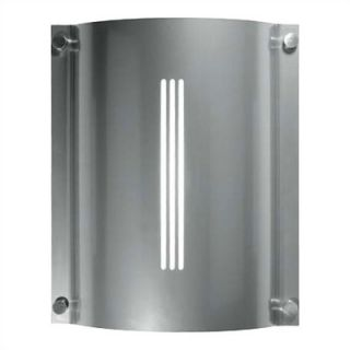 LBL Lighting Stingray Saturn Two Light Outdoor Wall Sconce in White
