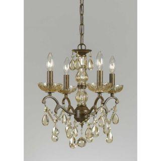 Triarch Lighting Versailles 4 Light Mini Chandelier