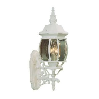 Livex Lighting Frontenac Outdoor Wall Lantern in White