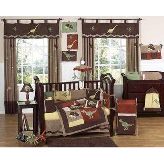 Sweet Jojo Designs Dinosaur Land Crib Bedding Collection