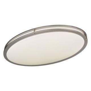 Minka Lavery 2 Light Oval Flush Mount   863 84 PL / 864 84 PL