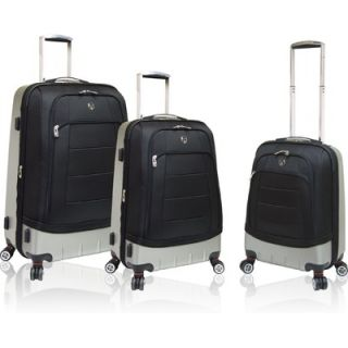 Travelers Polo & Racquet Club Moskow 3 Piece Hybrid Luggage Set   HB