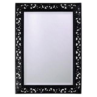 Howard Elliott Bristol Wall Mirror in Black