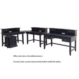 Home Styles Bedford L Shape Desk Office Suite   5531 165