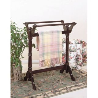 Heirloom Quilt Rack in Cherry by Powell