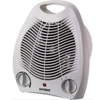 Optimus Portable Fan Heater with Thermostat   H1321
