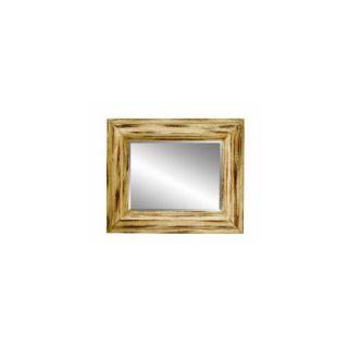 Bassett Mirror Cherry Wood Rectangular Bevel Wall Mirror   6387 179