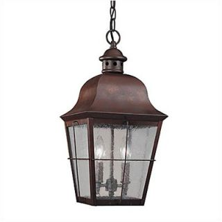 Sea Gull Lighting Colonial Styling Outdoor Pendant in