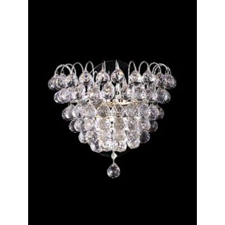 Dale Tiffany Two Light Harrison Wall Sconce in Polished Chrome