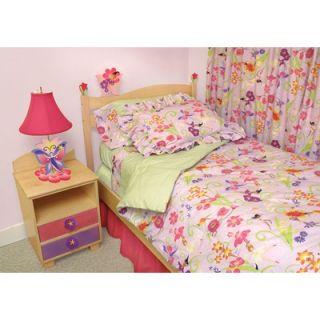 Room Magic Magic Garden Full Comforter/Bed Skirt/Sham Set