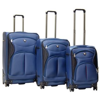 CalPak Sydney Expandable 3 Piece Spinner Luggage Set