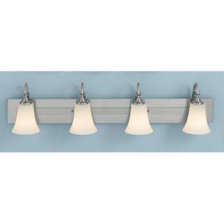 Feiss Barrington Vanity Light in Brushed Steel   VS12704 BS