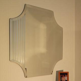 Spancraft Glass Regency Scallop Frameless Mirror   221 3030 / 222