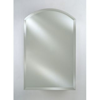 Afina Radiance Arch Top Frameless Wall Mirror