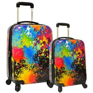 Travelers Choice 2 Piece Hardsided Expandable Luggage Set