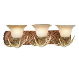 Vaxcel Lodge Vanity Light in Noachian Stone   VL33023NS