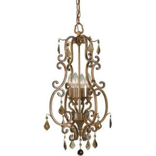 Forte Lighting 4 Light Foyer Pendant   7484 04 41