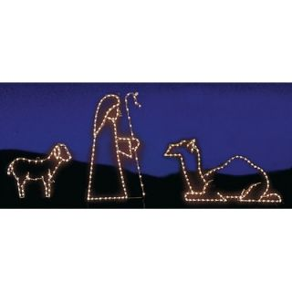 Holiday Lighting Specialists Lamb, Sheppard & Camel Set