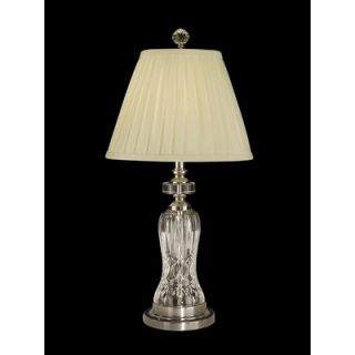 Dale Tiffany 25.5 One Light Crystal Table Lamp in Antique Pewter