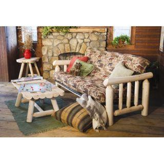 Rustic Cedar Log Futon Frame