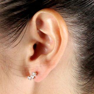 Palm Beach Jewelry 14K Cubic Zirconia Gold Earrings