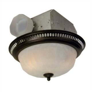 80709 Brushed Nickel Montesino Bathroom Exhaust Fan W Light