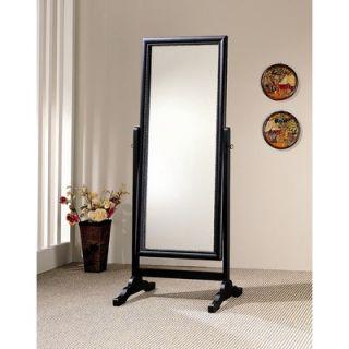 Wildon Home ® Ritzville Cheval Mirror in Rubbed Black